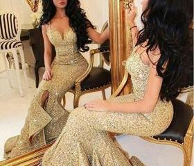 Gold Sequin Mermaid ..